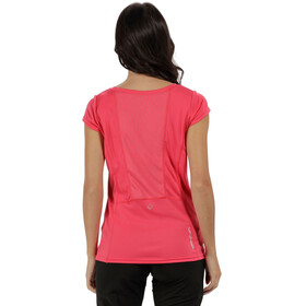 Regatta Hyper-Reflective T-Shirt Women Bright Blush/Bright Blush Reflective